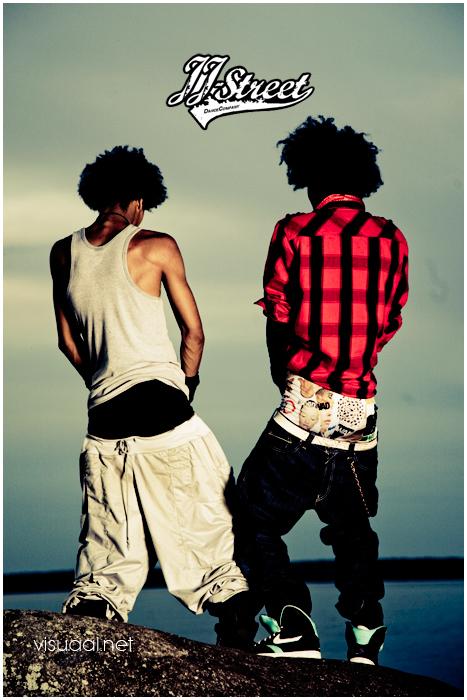 Les Twins Backwards Pants