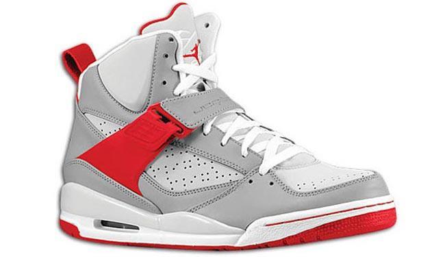 air jordan flight 45 red and white
