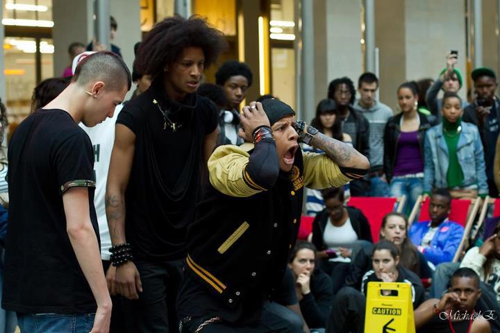 Hip hop vs krump battle les twins love